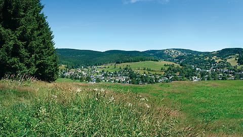 Location plan of the Höhensteig