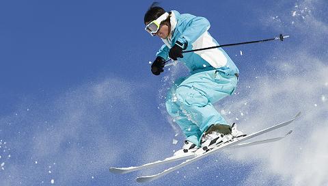 Ski-lifts and slopes
