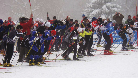 "The cross-country skiing event ""Kammlauf"""