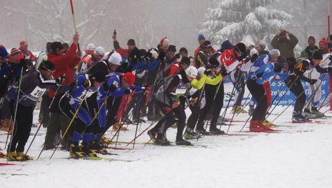 "The cross-country skiing event ""Kammlauf"""