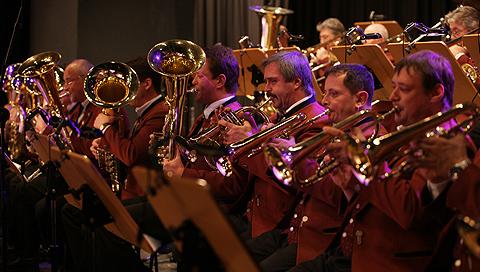 "The orchestra ""Stadtorchester Klingenthal"""